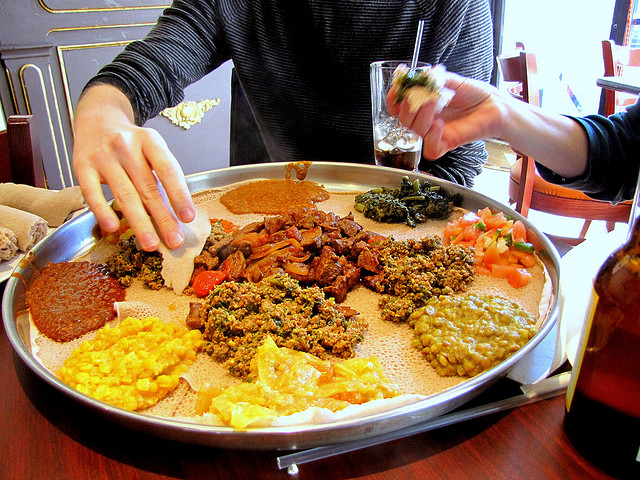 Dine like your sign sagittastius sher institute of for Abyssinia ethiopian cuisine