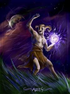 Aries God
